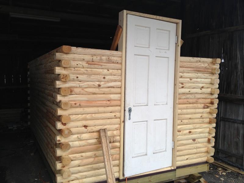 DIY Tiny Cabin - Cabin Wall