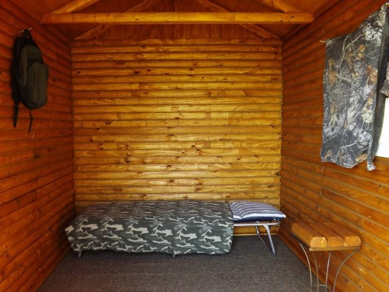 DIY Tiny Cabin - Interior