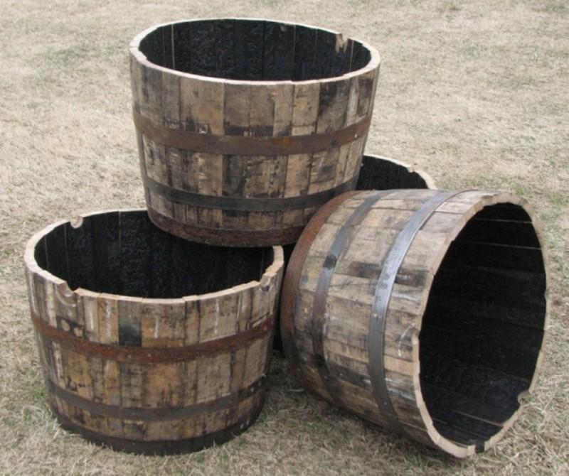DIY Wine Barrel Dog Bed - Wine Barrel