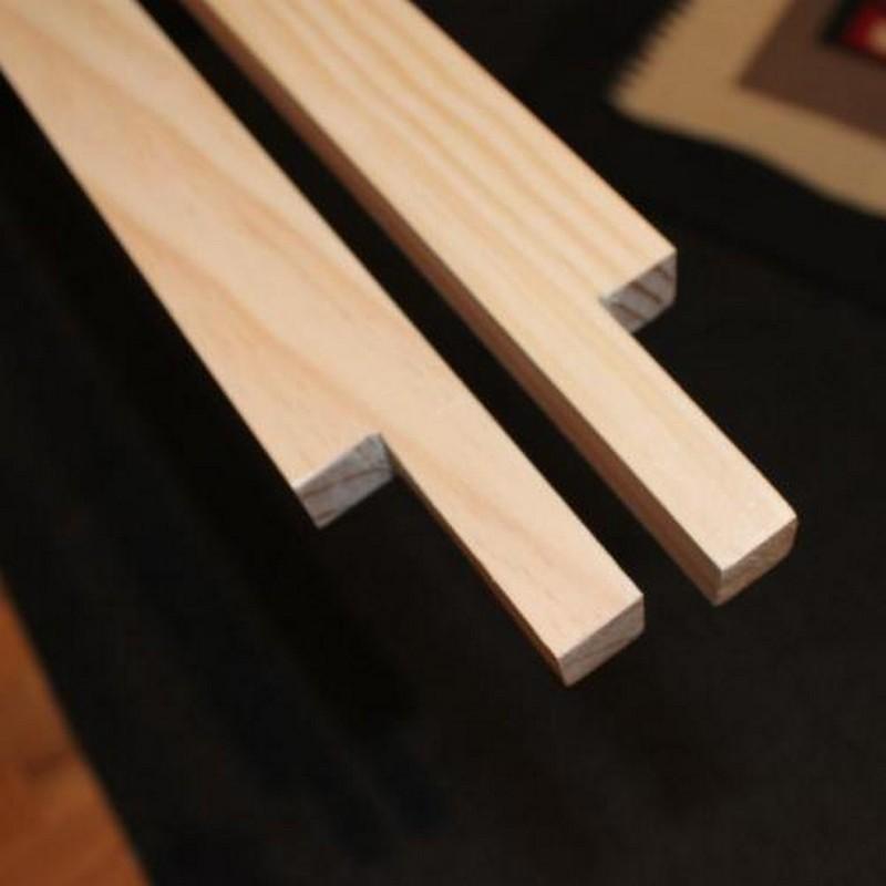 DIY Wood Wall Accent - Cutting