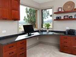 Eastern Oregon Modern Ranch - Home Office