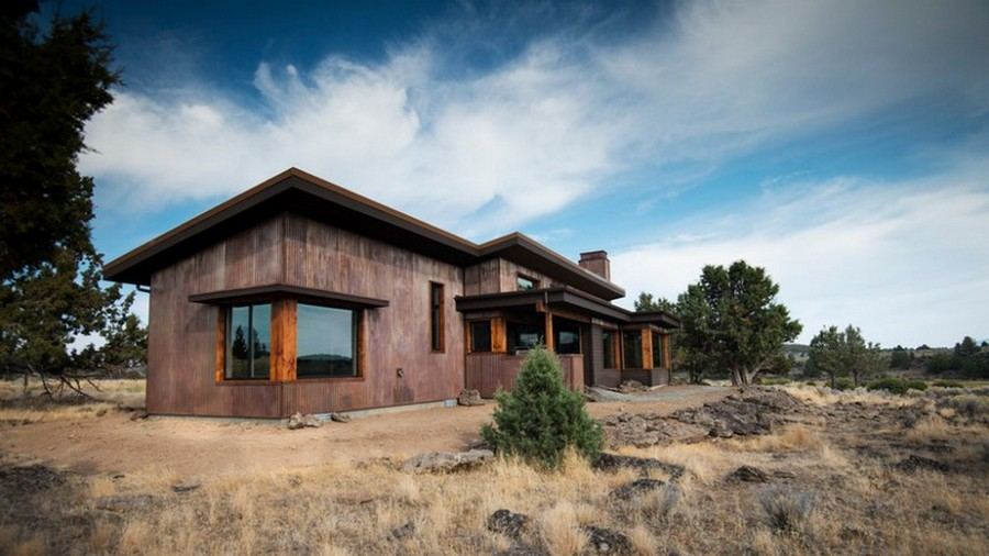 Eastern Oregon Modern Ranch The Owner Builder Network