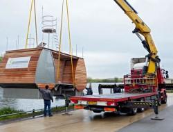 Floating Catamaran Ecolodge - Kinderdijk, Netherlands