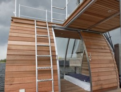 Floating Catamaran Ecolodge - Terrace