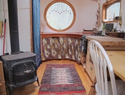 Gypsy Wagon In The Woods - Interior