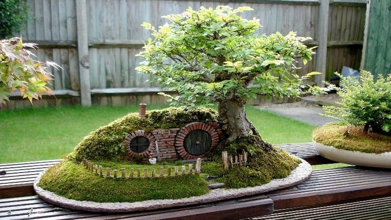 DIY Miniature Hobbit Hole