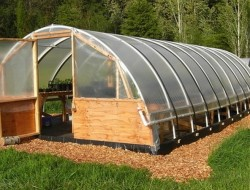 DIY Hoop Greenhouse