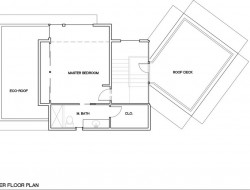 NEXTHouse - Upper floor plan