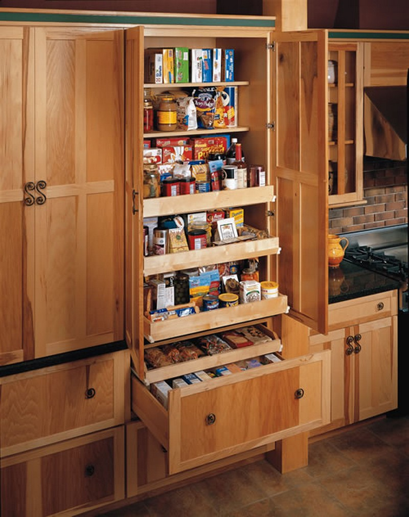 Pantry cabinet ideas pantry cabinet ideas home storage for Kitchen cupboard designs