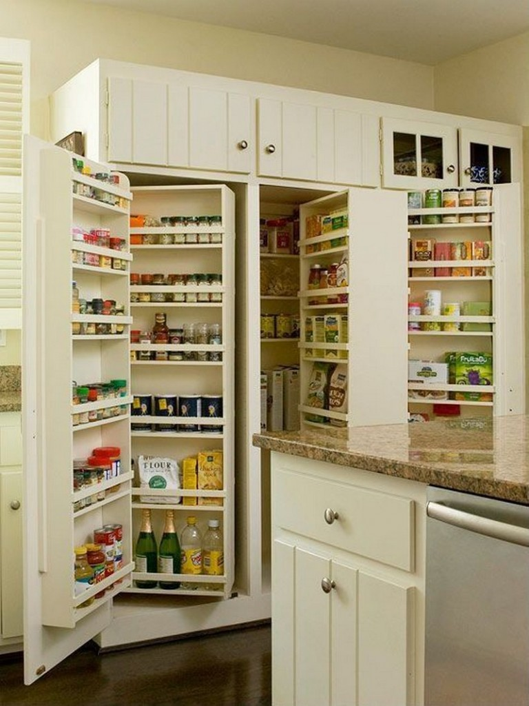 Pantry Cabinet Ideas - Pantry Organizer