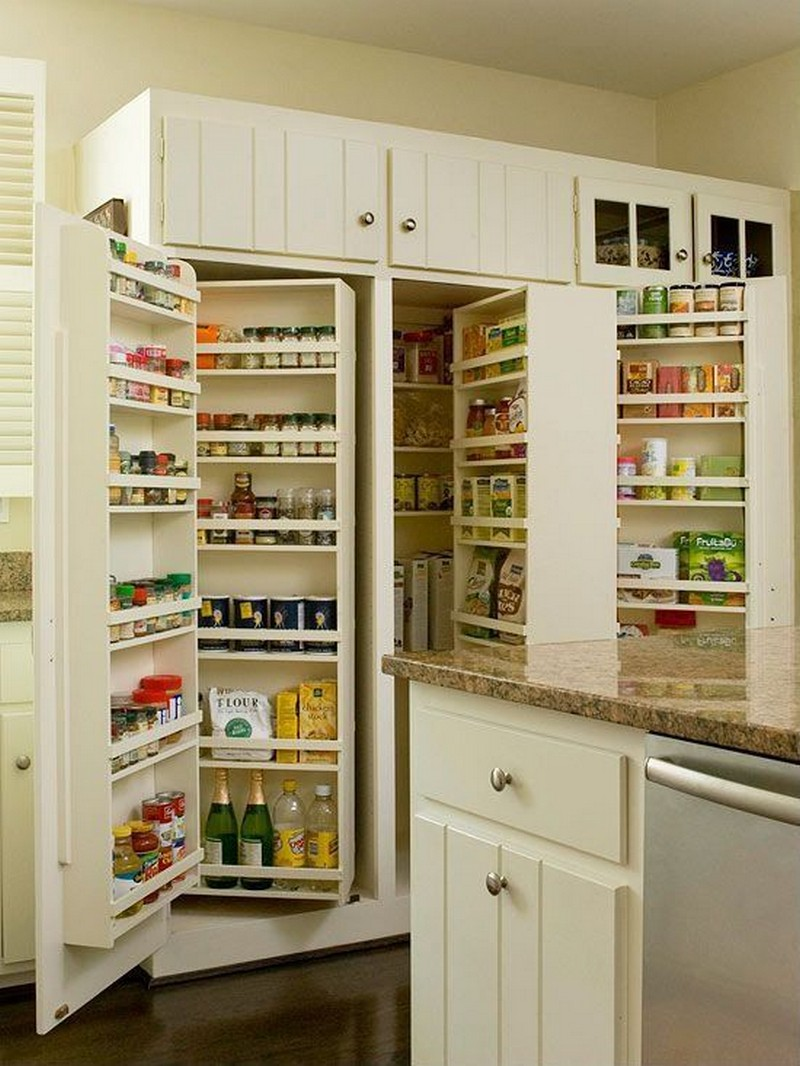 pantry cabinet ideas the owner builder network. Black Bedroom Furniture Sets. Home Design Ideas