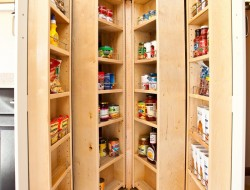 Pantry Cabinet Ideas - Folded Cabinet