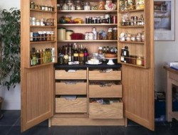 Pantry Cabinet Ideas - Pantry with Drawer