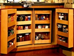 Pantry Cabinet Ideas - Double Pantry