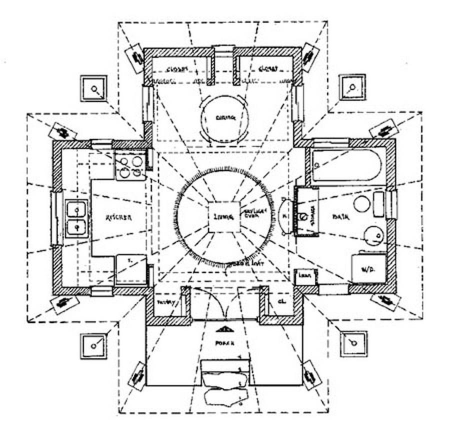 Quietude - Floor Plan