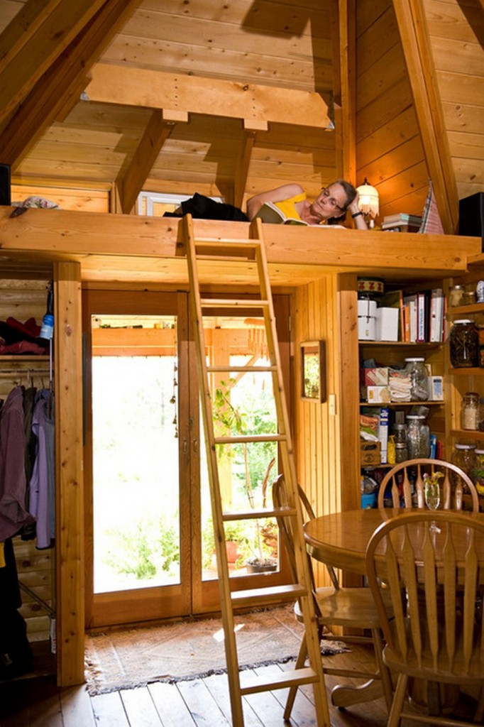 Quietude - The sleeping loft