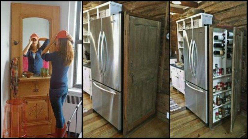 How many times have you come across an old door on the side of the road waiting for it\u0027s final journey to the dump? You may even have one right now you\u0027re ... & Repurposed Doors | The Owner-Builder Network