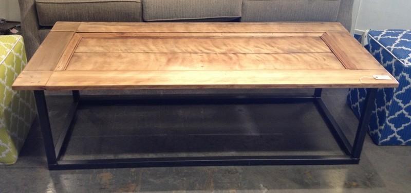 Repurposed Door - Coffee Table