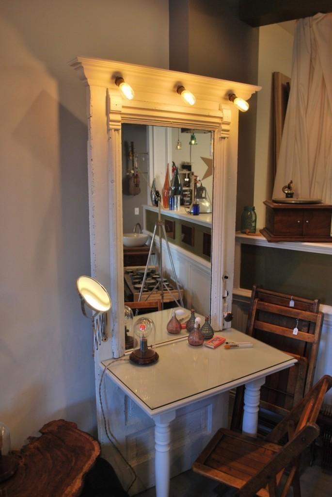 Repurposed Door - Dressing Table