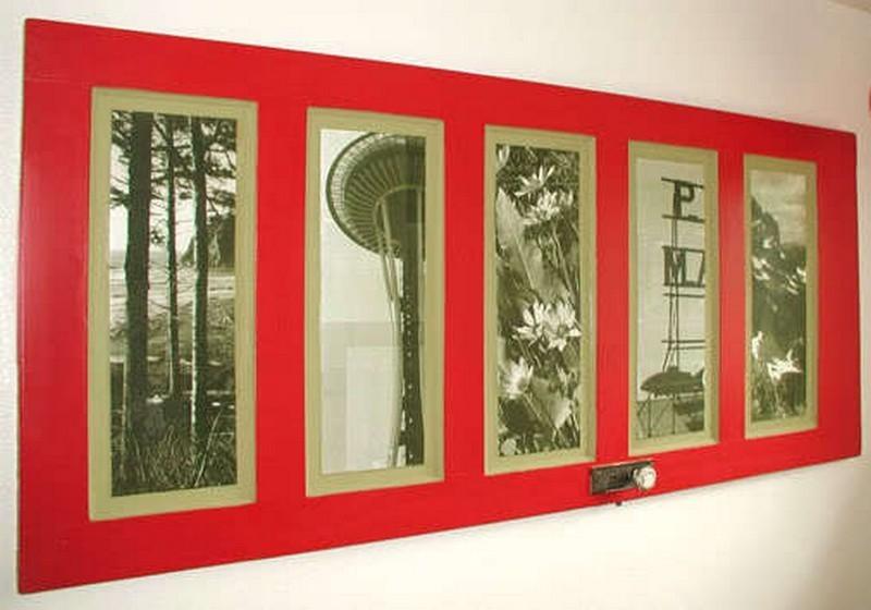 Repurposed Door - Picture Frame