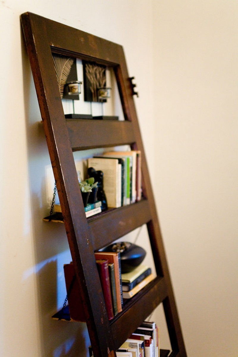 Repurposed Door - Bookshelf & Repurposed Doors pezcame.com