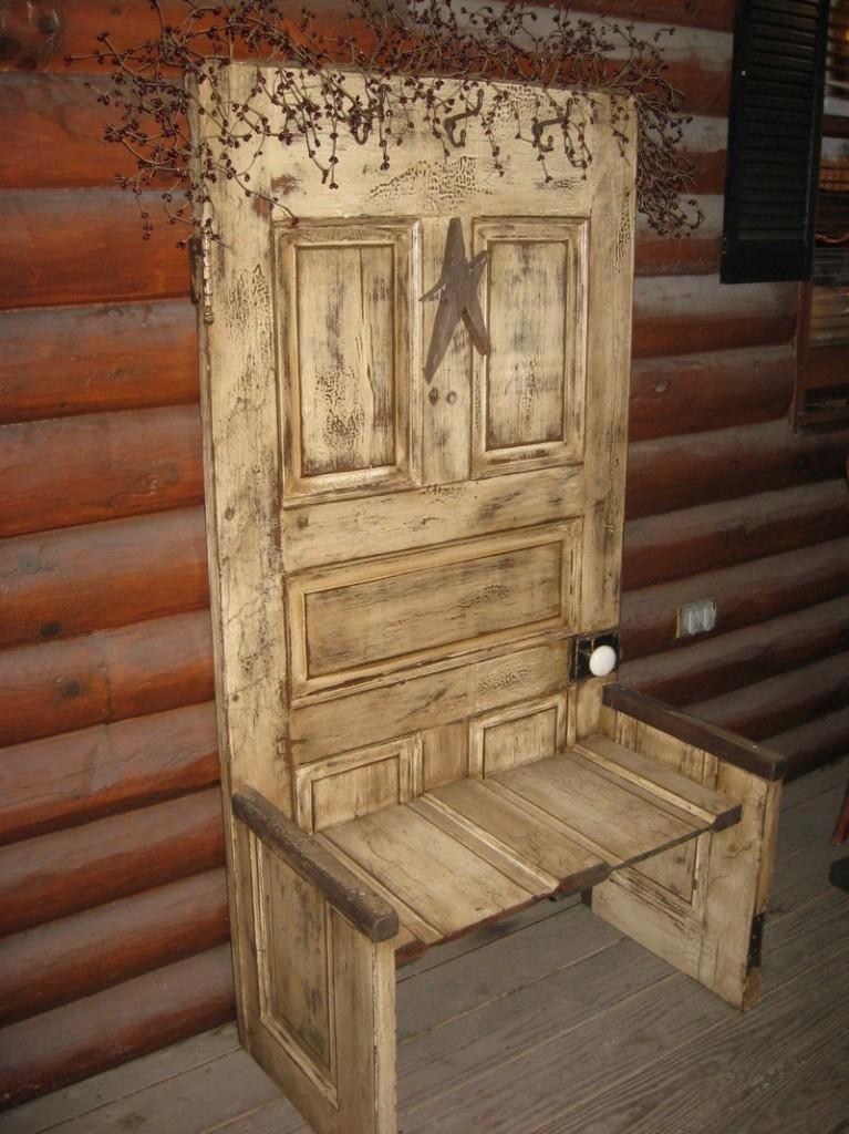 Repurposed Door - Outdoor Chair