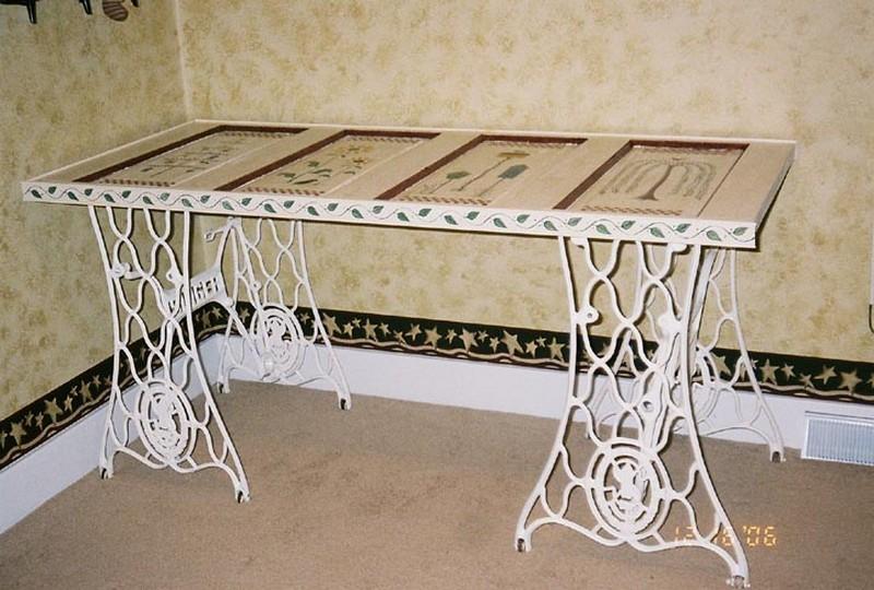 Repurposed Door - Working Table