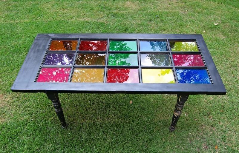Repurposed Door - Table