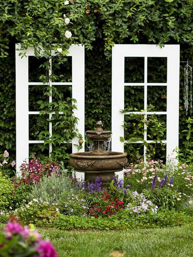 Repurposed Door - Garden Accessories/Trellis