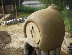 DIY Cob Oven - Round