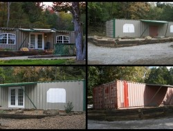 A Home Built From Two Shipping Containers