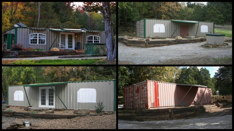A home built from two shipping containers!