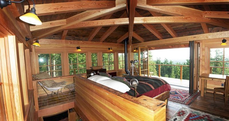 Southridge Cabin -Bedroom