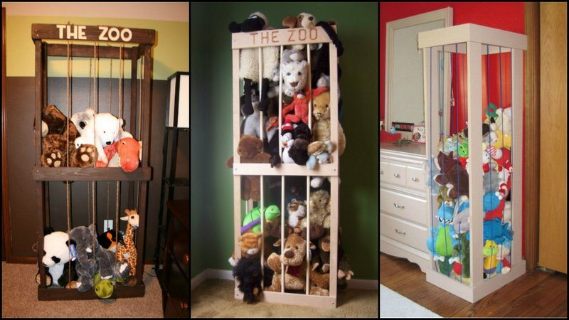 Diy stuffed animal zoo the owner builder network if youre a parent youll know how stuffed toys seem to both miraculously multiply and migrate to every corner of the house solutioingenieria Choice Image