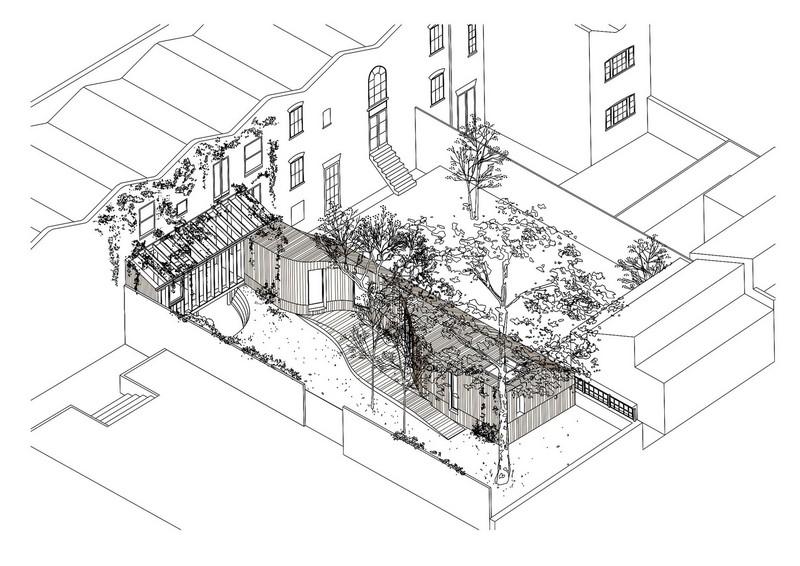 Tree House - Axonometric