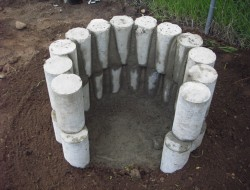 DIY Cob Oven - Tuck pointing