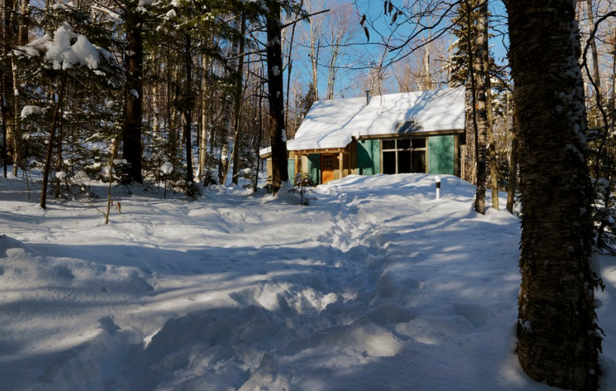 Winter Cabin - Exterior