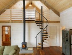 Winter Cabin - Family Room