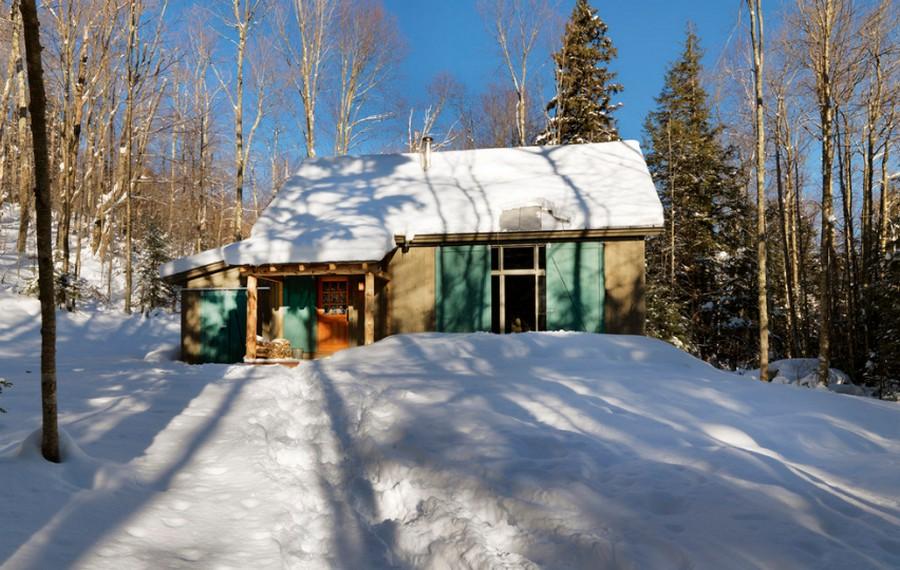 Winter Cabin - Exterior