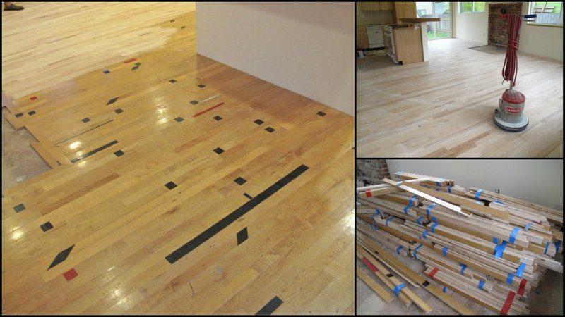 Diy Reclaimed Wood Flooring The Owner