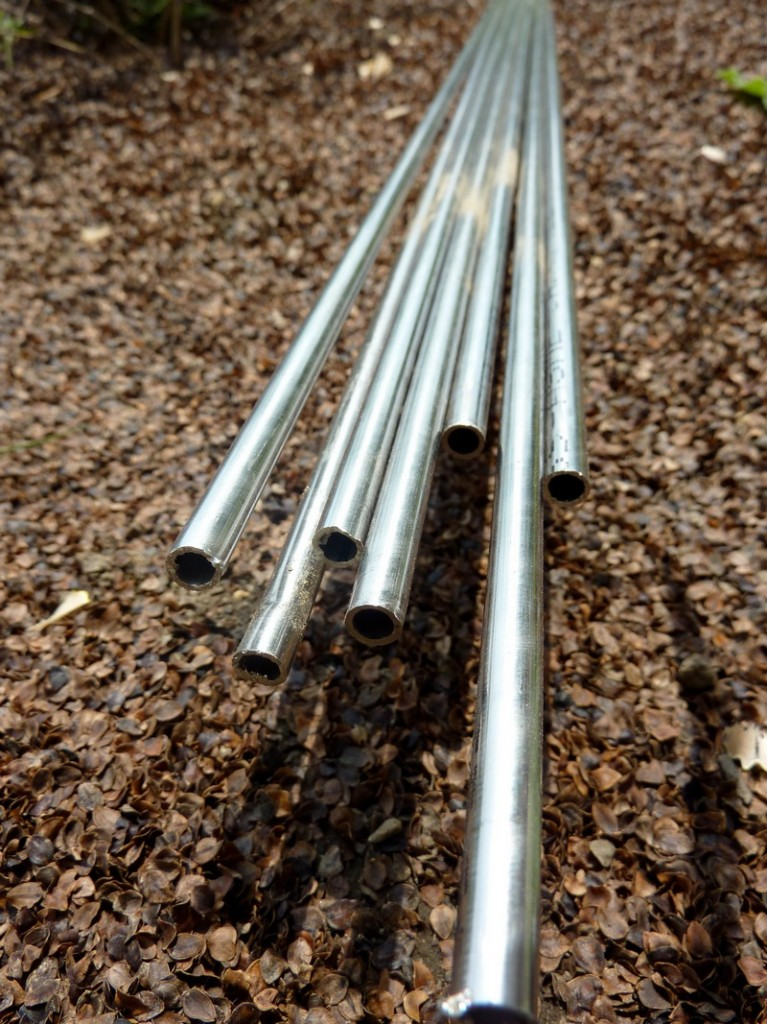 DIY Arbor Trellis - Steel rods