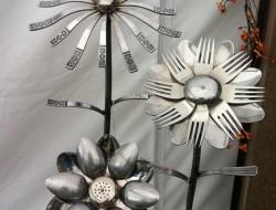 Repurposed Cutlery - Silverware Art