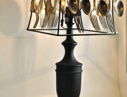 Repurposed Cutlery - Spoondelier