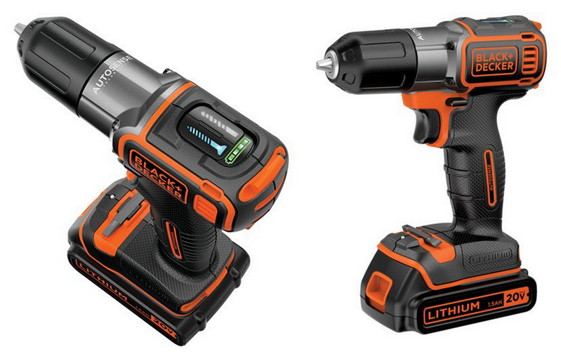 20V auto-sensing drill/drive from Black and Decker