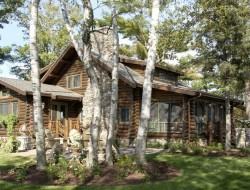 Bay Lake Cabin - Exterior