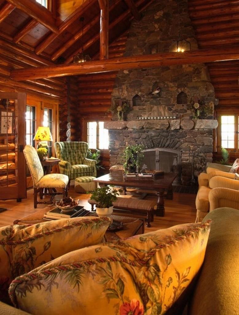 Bay Lake Cabin - Living Room