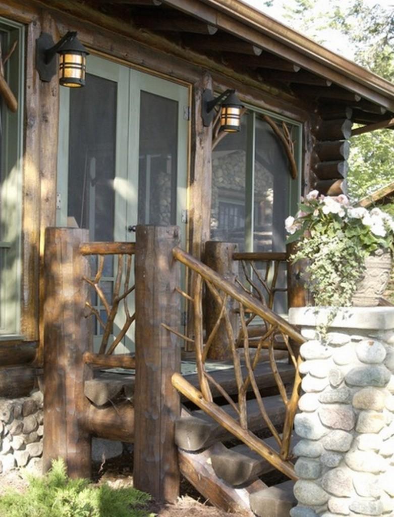 Bay Lake Cabin - Porch