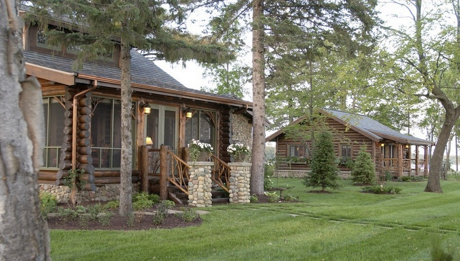 Bay Lake Cabin - Exterior