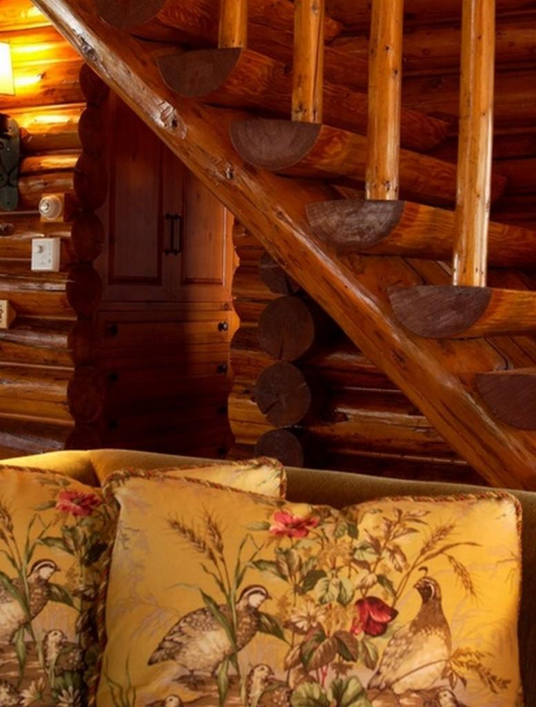 Bay Lake Cabin - Staircase