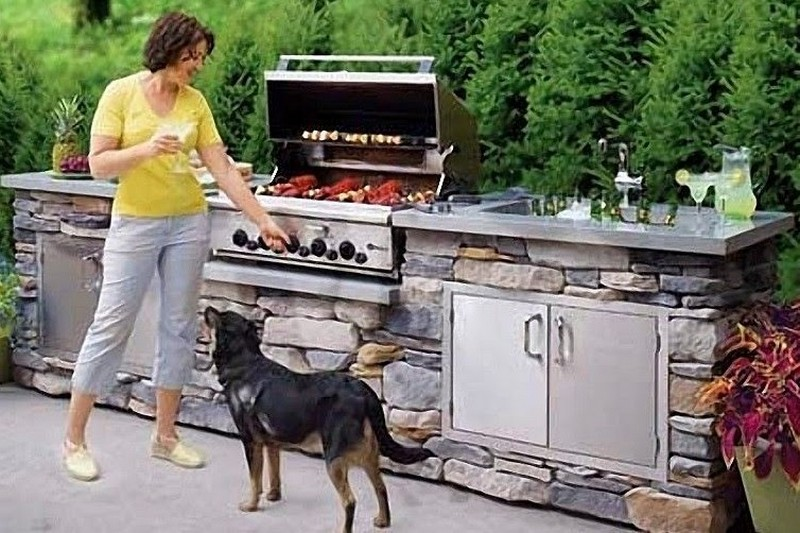 4. How to Build an Outdoor Kitchen - This Old House